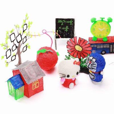 пример игрушек созданных 3d ручкой