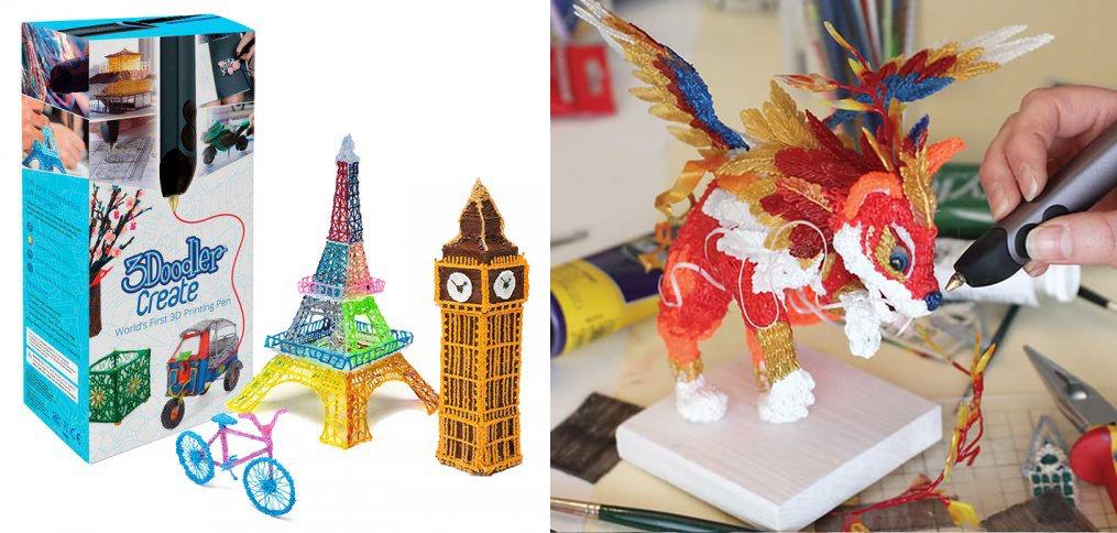 3d ручка 3Doodler Create обзор