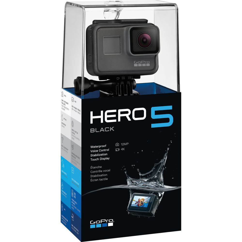 экшн-камера gopro hero5 black упаковка