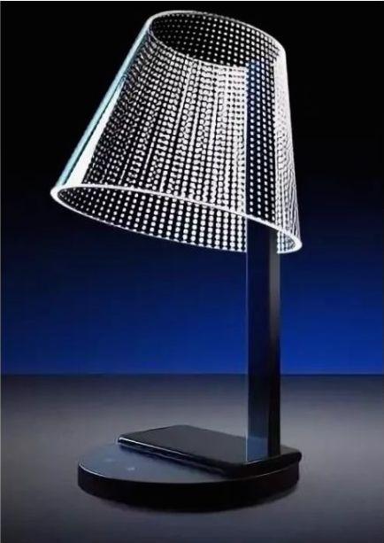 Светильник с беспроводной зарядкой HomeTree Kong Dots