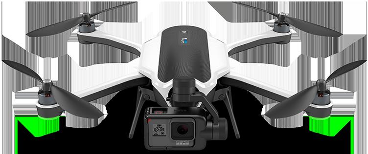 квадрокоптер-дрон gopro karma