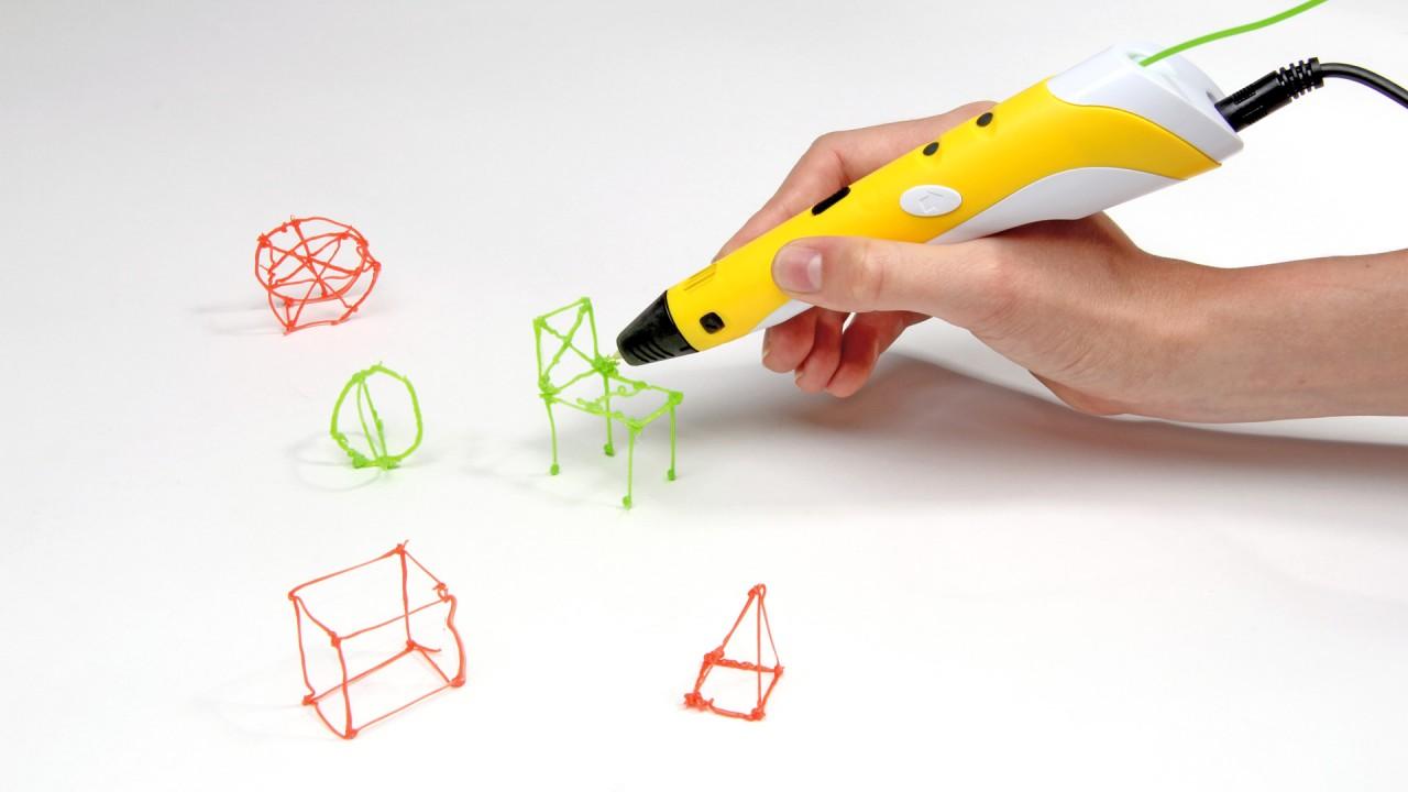Как нарисовать 3д ручкой подарок 98