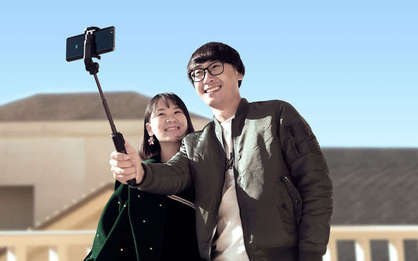 Селфи-монопод + штатив с Bluetooth Xiaomi Selfie Stick 360°