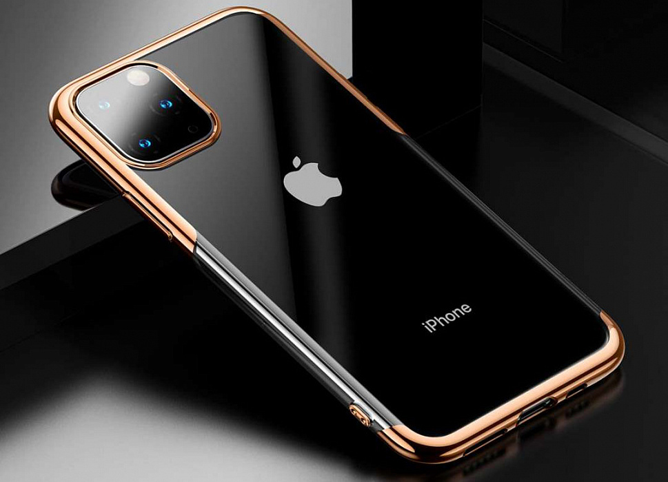 Чехол Baseus Shining Case Gold для iPhone 11 Pro Max