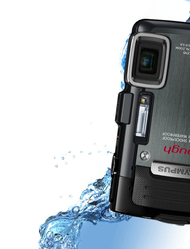 Подводный фотоаппарат Olympus Tough TG-835 iHS (черный)