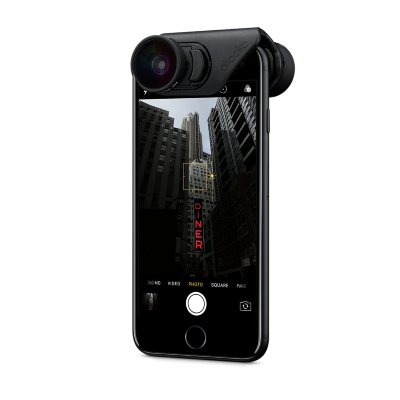 Объектив Olloclip 3-in-1 CORE Lens Set Black для iPhone 8/7 и iPhone 8/7PLUS