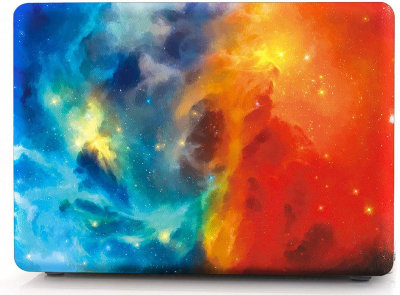 Чехол-накладка i-Blason Cover Colorful Nebula для MacBook Pro 13 Retina