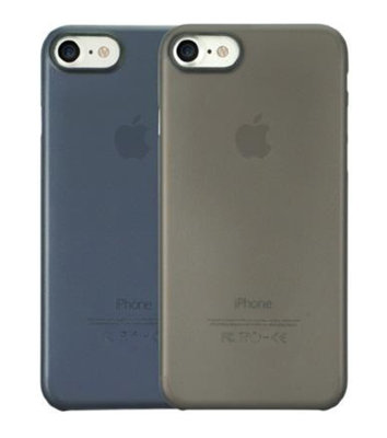 Набор из двух чехлов Ozaki O!coat 0.3 Jelly 2 in 1 Black & Dark Blue для iPhone 8/7