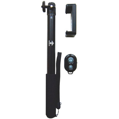 Селфи-палка (монопод) Camanchi Selfie Kit CMC-905 Black с пультом Bluetooth