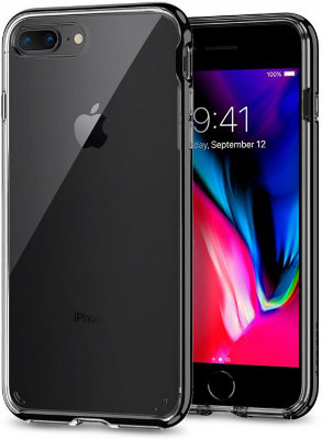Чехол Spigen для iPhone 8/7 Plus Neo Hybrid Crystal 2 Jet Black  (055CS22372)