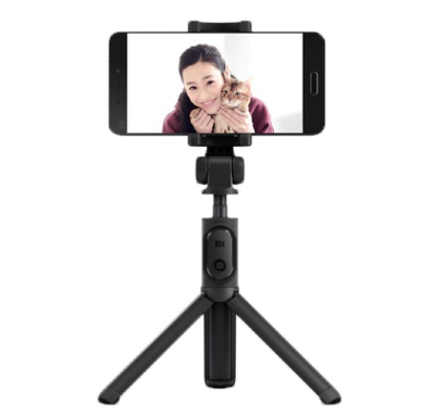 Селфи-монопод + штатив с Bluetooth Xiaomi Selfie Stick 360° Rotating Black