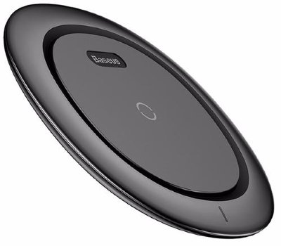 Беспроводная зарядка Baseus UFO Desktop Wireless Charger Black