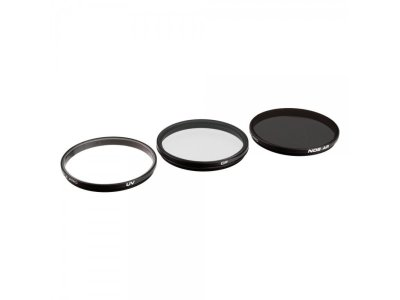 Набор фильтров для DJI Zenmuse X7 / X5S / X5 PolarPro Filter 3-Pack (UV, CP, ND8)