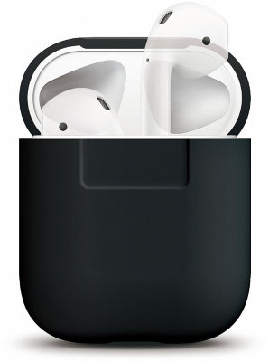 Чехол для AirPods Elago Silicone Case Black