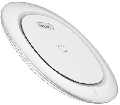 Беспроводная зарядка Baseus UFO Desktop Wireless Charger White