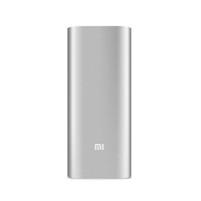Внешний аккумулятор 16000 mAh Xiaomi Mi Power Bank Super-sized 16000 Silver