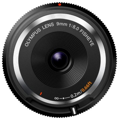 Объектив Olympus M.ZUIKO DIGITAL 9mm f/8 Fish-Eye Body Cap