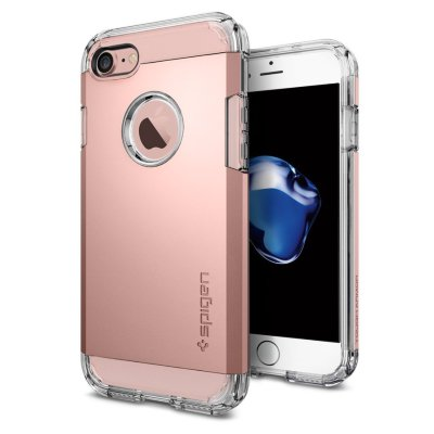 Чехол Spigen для iPhone 8/7 Tough Armor Rose Gold 042CS20492
