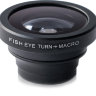 Объектив для iPhone и любого телефона Fisheye + Macro Black