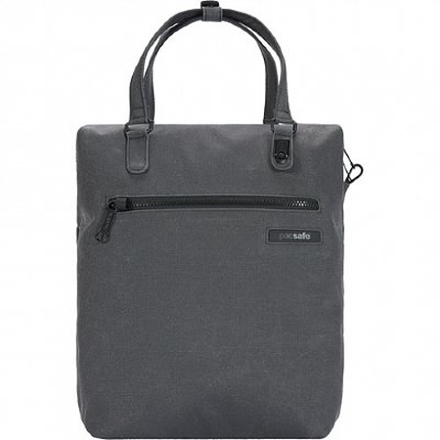 Сумка-рюкзак-антивор Pacsafe Intasafe Backpack Tote 13L Charcoal