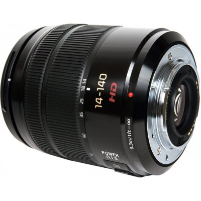 Объектив Panasonic Lumix G Vario 14-140mm f/3.5-5.6 ASPH POWER O.I.S Black (H-FS14140)