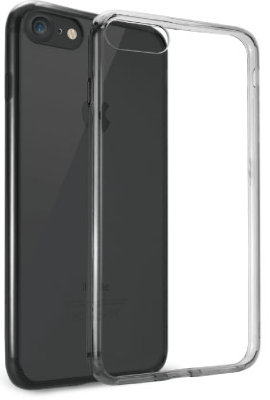 Чехол Ozaki O!coat Crystal+ Clear Black для iPhone 8/7