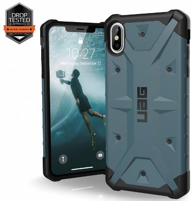 Противоударный чехол Urban Armor Gear Pathfinder для iPhone Xs Max (Slate)