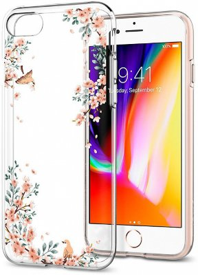 Чехол Spigen Liquid Crystal Blossom Nature для iPhone 8/7 (054CS22290)