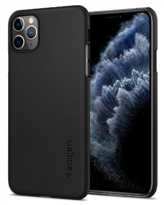 Чехол Spigen для iPhone 11 Pro Max Thin Fit Black 075CS27127