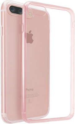 Чехол Ozaki O!coat Crystal+ Clear Pink для iPhone 8/7 Plus