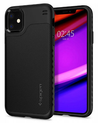 Чехол Spigen для iPhone 11 Hybrid NX Black 076CS27074