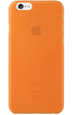 Чехол Ozaki O!coat 0.3 Jelly для iPhone 6S/6 Orange