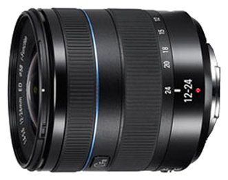 Объектив Samsung NX 12-24 mm f/4.0-5.6 ED Ultra Wide Zoom Lens (W1224ANB)