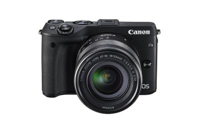 Цифровой фотоаппарат Canon EOS M3 Kit EF-M 18-55 IS STM Black