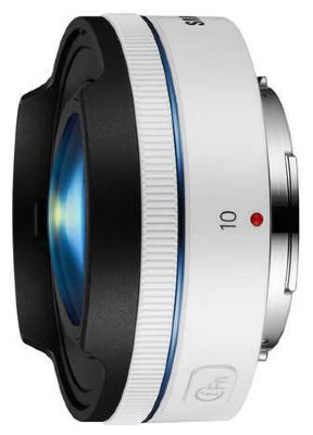 Объектив Samsung NX 10mm f/3.5 Fisheye White (EX-F10ANW)