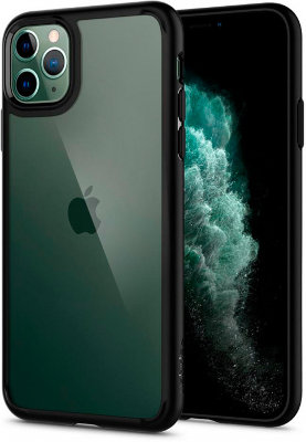 Чехол Spigen для iPhone 11 Pro Max Ultra Hybrid Black 075CS27136