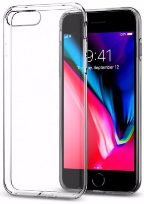 Чехол Spigen для iPhone 8/7 Plus Liquid Crystal Clear 055CS22233