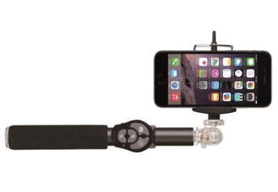 Селфи-монопод Hoox Selfie Stick 810 Series Black с пристяжным пультом Bluetooth