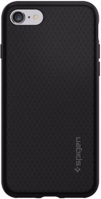 Чехол Spigen Liquid Air Black для iPhone 8/7 (042CS20511)