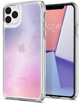 Чехол Spigen для iPhone 11 Pro Crystal Hybrid Quartz 077CS27115