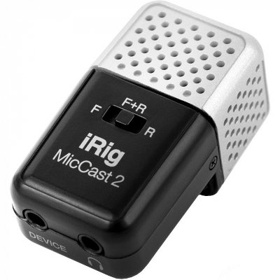 Микрофон IK Multimedia iRig Mic Cast 2 для iPhone, iPad и Android