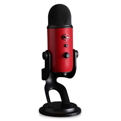 USB-микрофон Blue Microphones Yeti Satin Red