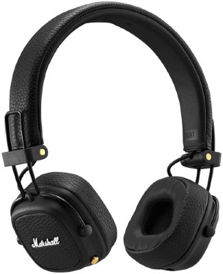 Наушники Marshall Major III Bluetooth Black