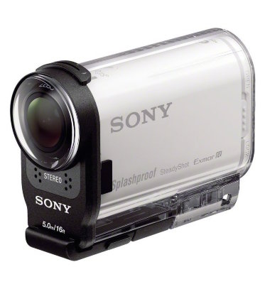 Экшн-камера Sony ActionCam HDR-AS200V с Wi-Fi и GPS
