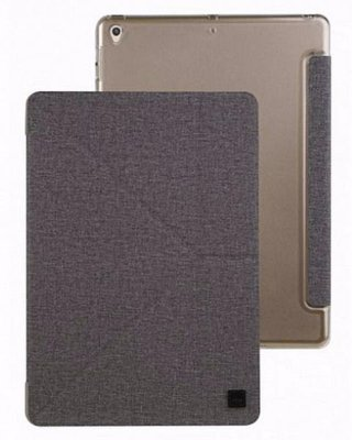 Чехол Uniq Yorker Canvas Grey для iPad Pro 10.5""