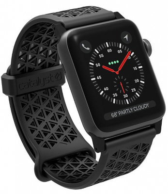Ремешок Catalyst Sport Band Stealth Black для Apple Watch Series 3/2 42mm