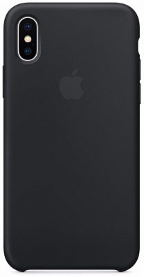 Чехол Apple Silicone Case для iPhone X Black MQGP2ZM/A