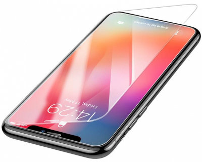 Защитное стекло Baseus Tempered Glass Film 0.3mm Transparent для iPhone Xs Max