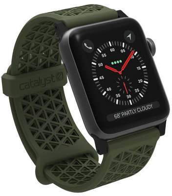 Ремешок Catalyst Sport Band Army Green для Apple Watch Series 3/2 42mm