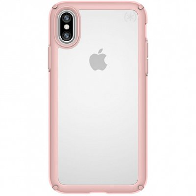 Чехол Speck Presidio Show Clear/Rose Gold для iPhone X/XS